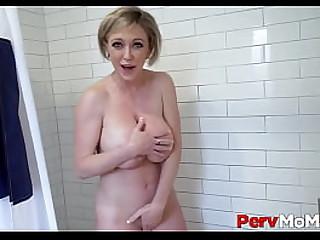 Big Ass MILF Stepmom Fucked To Orgasm Wide of Stepson Shower POV